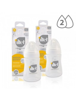 Lot de 2 biberons ILTET 230ml